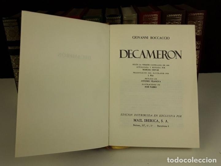 Enciclopedias: BIBLIOTECA DE LOS GRANDES CLÁSICOS. 11 TOMOS(VER DESCRIP). VV. AA. EDIC. MAIL IBERICA. 1968. - Foto 6 - 80192129