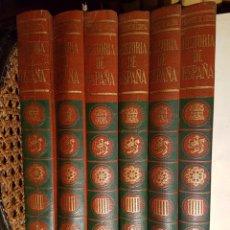 Enciclopedias: HISTORIA DE ESPAÑA 6 LIBROS EDITORIAL SALVAT 450 PAGINAS CADA LIBRO .. Lote 81134911