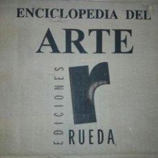 Enciclopedias: MAGNIFICA COLECCIÓN ENCICLOPEDIA DEL ARTE - 8 TOMOS EDITORIAL: EDICIONES RUEDA, TOLEDO, 2004 NUEVA. Lote 88875558
