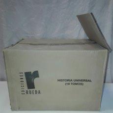 Enciclopedias: HISTORIA UNIVERSAL. EDICIONES RUEDA. 10 TOMOS.. Lote 88876722