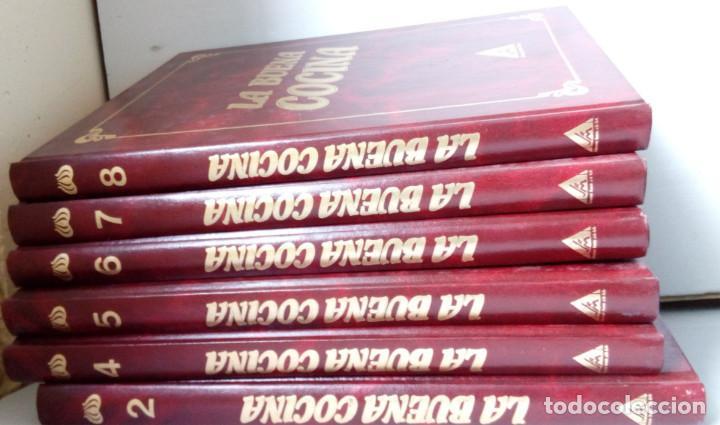 LA BUENA COCINA, EDICIONES RUEDA 1991, 6 TOMOS, LIBROS RECETAS (Libros Nuevos - Diccionarios y Enciclopedias - Enciclopedias)