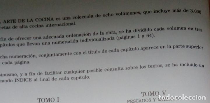 Enciclopedias: LA BUENA COCINA, EDICIONES RUEDA 1991, 6 TOMOS, LIBROS RECETAS - Foto 2 - 90457474
