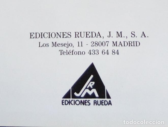Enciclopedias: LA BUENA COCINA, EDICIONES RUEDA 1991, 6 TOMOS, LIBROS RECETAS - Foto 4 - 90457474