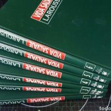 Enciclopedias: VIDA SALVAJE-LAROUSSE LIBROS + CINTAS VHS/COMPLETA. Lote 95213154