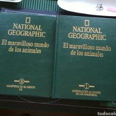 Enciclopedias: EL MARAVILLOSO MUNDO DE LOS ANIMALES/COMPLETA. Lote 95376296