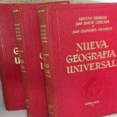 Enciclopedias: COLECCION III,TOMOS «NUEVA GEOGRAFIA UNIVERSAL». Lote 96101576