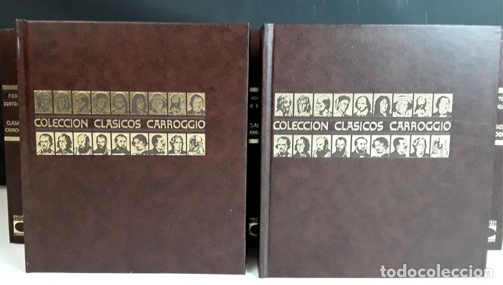 Enciclopedias: COLECCIÓN CLÁSICOS CARROGGIO. 18 TOMOS. VARIOS AUTORES. 1977/1984. - Foto 2 - 100574735