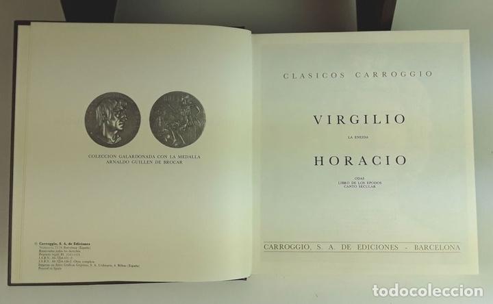 Enciclopedias: COLECCIÓN CLÁSICOS CARROGGIO. 18 TOMOS. VARIOS AUTORES. 1977/1984. - Foto 3 - 100574735