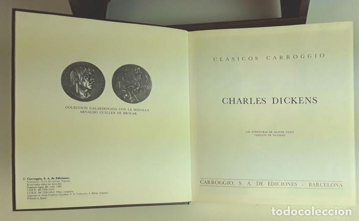 Enciclopedias: COLECCIÓN CLÁSICOS CARROGGIO. 18 TOMOS. VARIOS AUTORES. 1977/1984. - Foto 6 - 100574735