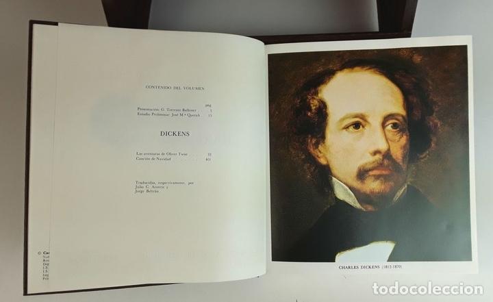 Enciclopedias: COLECCIÓN CLÁSICOS CARROGGIO. 18 TOMOS. VARIOS AUTORES. 1977/1984. - Foto 7 - 100574735