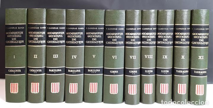 GEOGRAFÍA GENERAL DE CATALUNYA. FACSÍMIL. 11 TOMOS. EDICIONS CATALANES. 1980. (Libros Nuevos - Diccionarios y Enciclopedias - Enciclopedias)