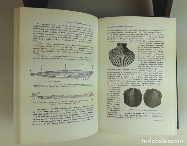 Enciclopedias: GEOGRAFÍA GENERAL DE CATALUNYA. FACSÍMIL. 11 TOMOS. EDICIONS CATALANES. 1980. - Foto 4 - 100588395
