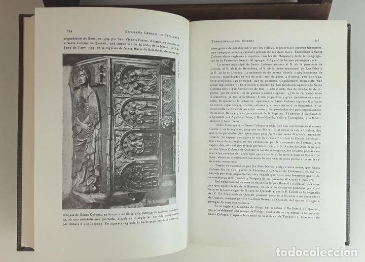 Enciclopedias: GEOGRAFÍA GENERAL DE CATALUNYA. FACSÍMIL. 11 TOMOS. EDICIONS CATALANES. 1980. - Foto 7 - 100588395