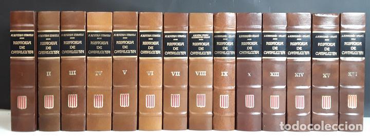 HISTÒRIA DE CATALUNYA. FACSÍMIL. 14 TOMOS. J. SOBREQUÉS I CALLICÓ. ENCICLOPEDIA VASCA. 1972/1984. (Libros Nuevos - Diccionarios y Enciclopedias - Enciclopedias)