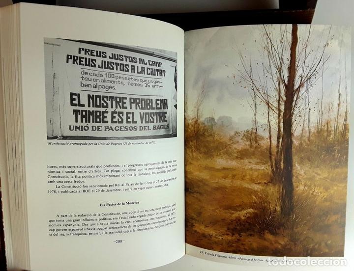 Enciclopedias: HISTÒRIA DE CATALUNYA. FACSÍMIL. 14 TOMOS. J. SOBREQUÉS I CALLICÓ. ENCICLOPEDIA VASCA. 1972/1984. - Foto 7 - 100599867