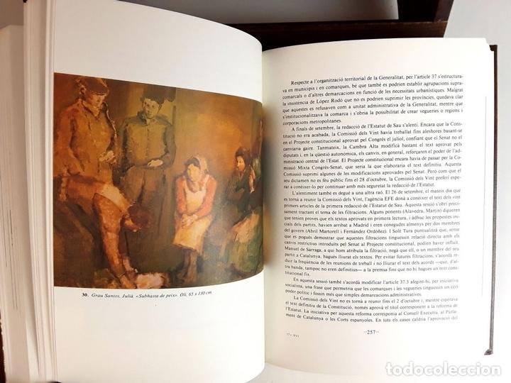 Enciclopedias: HISTÒRIA DE CATALUNYA. FACSÍMIL. 14 TOMOS. J. SOBREQUÉS I CALLICÓ. ENCICLOPEDIA VASCA. 1972/1984. - Foto 8 - 100599867