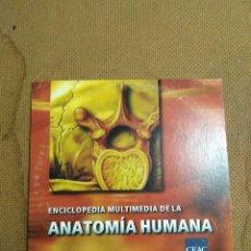 Enciclopedias: ÚNICA!! ENCICLOPEDIA MULTIMEDIA ANATOMÍA HUMANA. PC WINDOWS. CEAC CENTRO DE ESTUDIOS. Lote 101147648