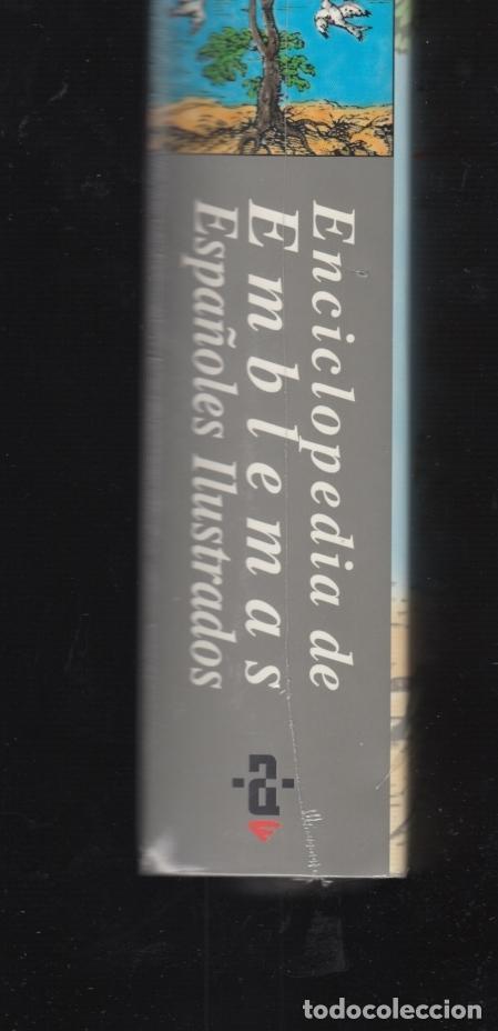 Enciclopedias: ENCICLOPEDIA AKAL DE EMBLEMAS ESPAÑOLES ILUSTRADOS BERNAT Y CULL 1999 CONTIENE CD ROM PLASTIFICADO - Foto 4 - 102534343