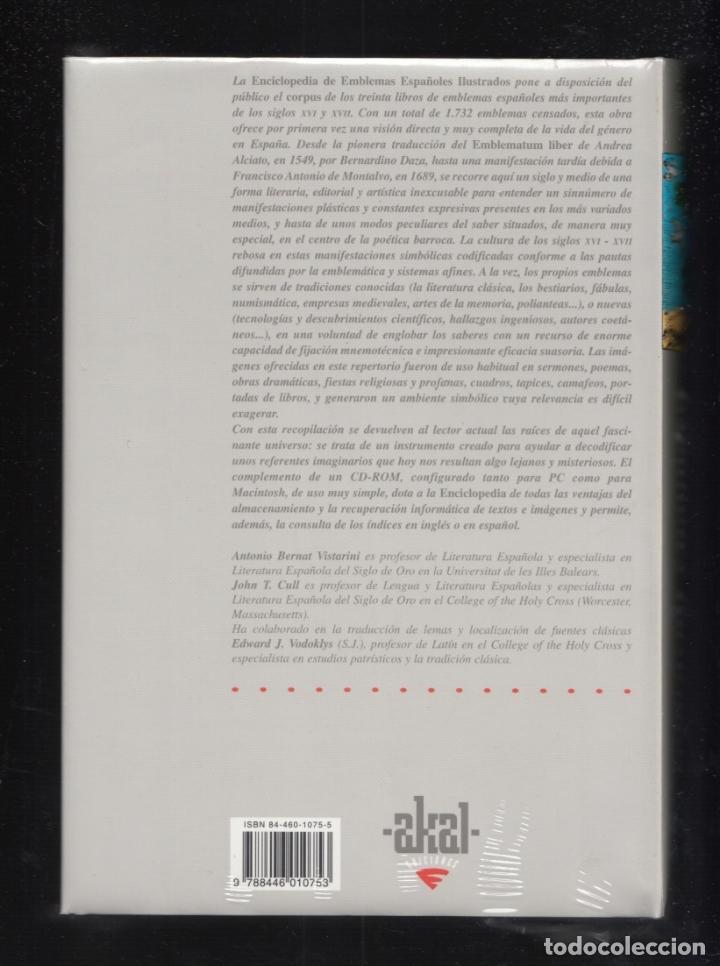 Enciclopedias: ENCICLOPEDIA AKAL DE EMBLEMAS ESPAÑOLES ILUSTRADOS BERNAT Y CULL 1999 CONTIENE CD ROM PLASTIFICADO - Foto 5 - 102534343