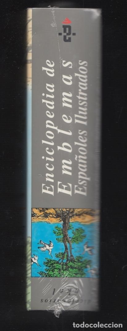 Enciclopedias: ENCICLOPEDIA AKAL DE EMBLEMAS ESPAÑOLES ILUSTRADOS BERNAT Y CULL 1999 CONTIENE CD ROM PLASTIFICADO - Foto 9 - 102534343