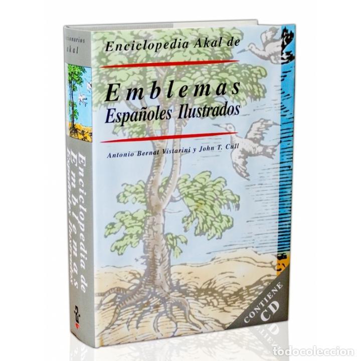 Enciclopedias: ENCICLOPEDIA AKAL DE EMBLEMAS ESPAÑOLES ILUSTRADOS BERNAT Y CULL 1999 CONTIENE CD ROM PLASTIFICADO - Foto 10 - 102534343