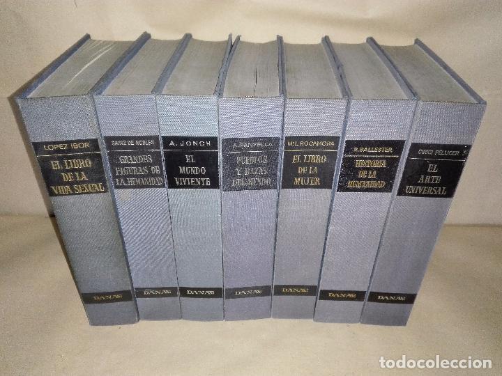 BIBLIOTECA DE LA CULTURA - EDICIONES DANAE - 7 TOMOS (Libros Nuevos - Diccionarios y Enciclopedias - Enciclopedias)