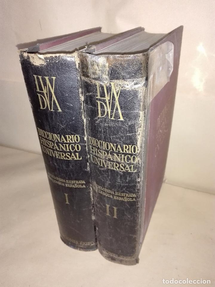 DICCIONARIO HISPÁNICO UNIVERSAL - ENCICLOPEDIA ILUSTRADA EN LENGUA ESPAÑOLA - 2 TOMOS (Libros Nuevos - Diccionarios y Enciclopedias - Enciclopedias)