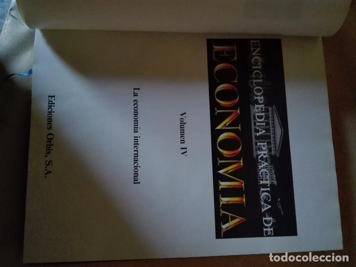 Enciclopedias: ENCICLOPEDIA PRACTICA DE ECONOMIA - EDITORIAL ORBIS - 3 TOMOS - Foto 2 - 102736155