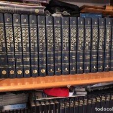 Enciclopedias: COLECCION 17 TOMOS PATRIMONIO DEL MUNDO DE EDIT PLAZAY JANES EDICCION LUJO DESCATALOGADA. Lote 103700967