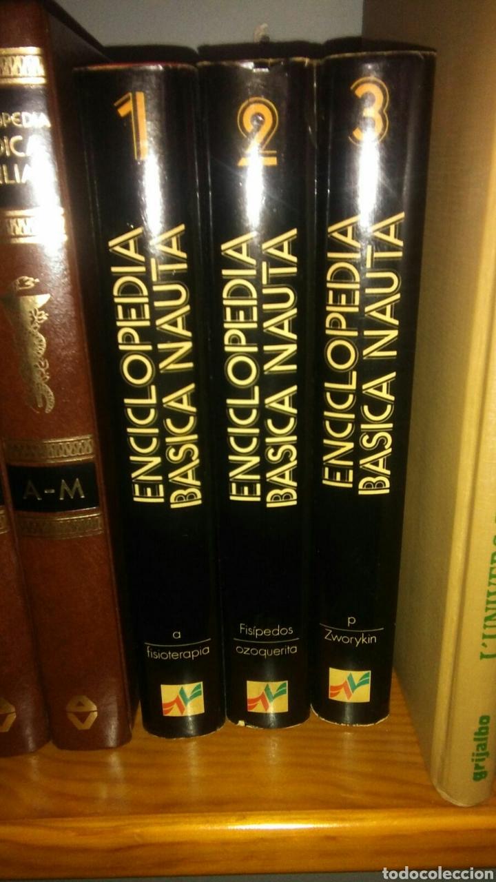 3 TOMOS ENCICLOPEDIA BÀSICA NAUTA (Libros Nuevos - Diccionarios y Enciclopedias - Enciclopedias)