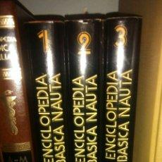 Enciclopedias: 3 TOMOS ENCICLOPEDIA BÀSICA NAUTA. Lote 105077564