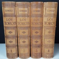 Enciclopedias: LOS TOROS. TRATADO TÉCNICO E HISTÓRICO. 4 TOMOS. JOSÉ M DEL COSSÍO. 1951/1961.. Lote 106040615