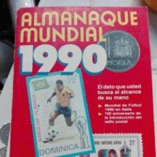 Enciclopedias: ALMANAQUE MUNDIAL 1990. Lote 108997651