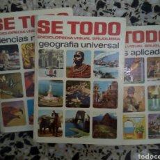 Enciclopedias: SE TODO ENCICLOPEDIA VISUAL BRUGUERA. Lote 109497948