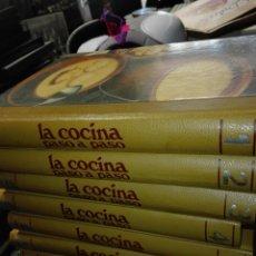 Enciclopedias: ENCICLOPEDIA LA COCINA PASO A PASO. Lote 110870458