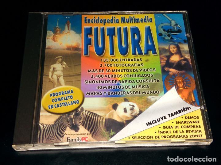 ENCICLOPEDIA MULTIMEDIA FUTURA FAMILYPC WINDOWS DEMOS PROGRAMAS SHAREWARE ZDNET ÍNDICE REVISTA (Libros Nuevos - Diccionarios y Enciclopedias - Enciclopedias)