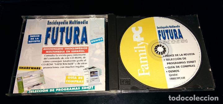 Enciclopedias: Enciclopedia Multimedia Futura FamilyPC Windows Demos Programas shareware ZDNet Índice revista - Foto 2 - 111067683