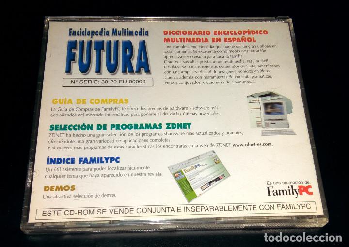 Enciclopedias: Enciclopedia Multimedia Futura FamilyPC Windows Demos Programas shareware ZDNet Índice revista - Foto 4 - 111067683