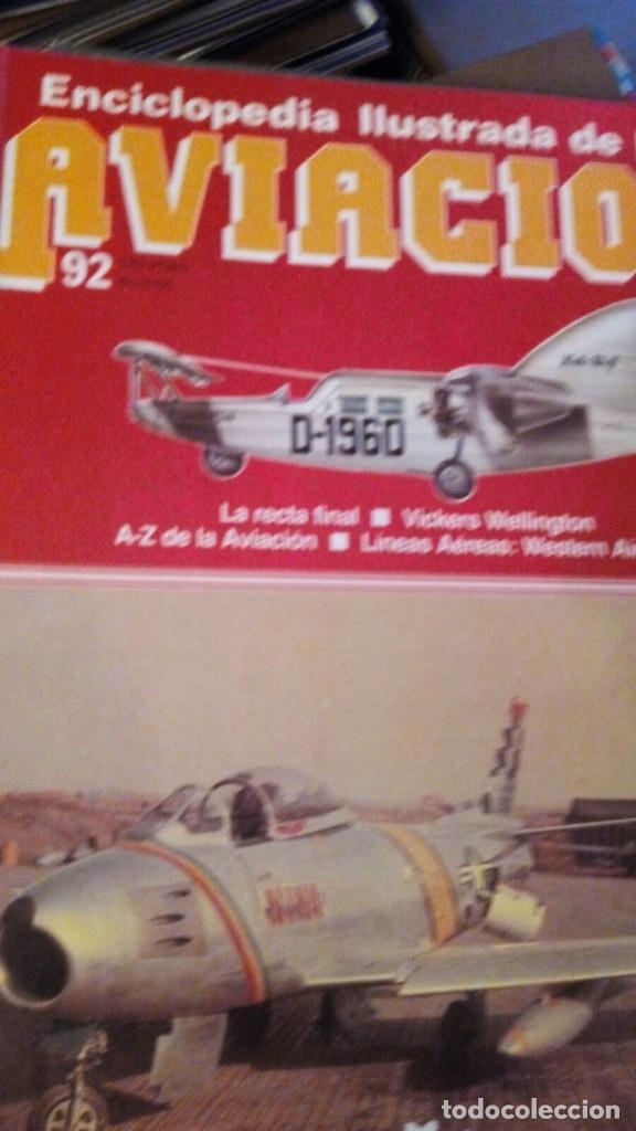 ENCICLOPEDIA ILUSTRADA DE AVIACION EDITORIAL DELTA 181 FASCICULOS SIN ENCUADERNAR(COMPLETA) (Libros Nuevos - Diccionarios y Enciclopedias - Enciclopedias)