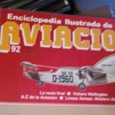 Enciclopedias: ENCICLOPEDIA ILUSTRADA DE AVIACION EDITORIAL DELTA 181 FASCICULOS SIN ENCUADERNAR(COMPLETA). Lote 112698295