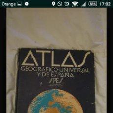 Enciclopedias: ATLAS UNIVERSAL. Lote 113222026