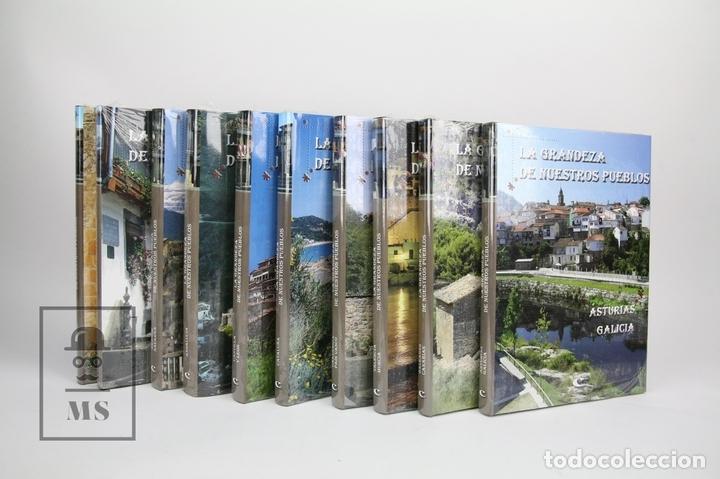 COLECCIÓN COMPLETA DE 10 LIBROS - LA GRANDEZA DE NUESTROS PUEBLOS - EDIT. GRUPO CULTURAL-PRECINTADOS (Libros Nuevos - Diccionarios y Enciclopedias - Enciclopedias)