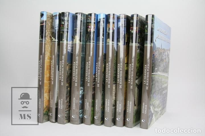 Enciclopedias: Colección Completa De 10 Libros - La Grandeza De Nuestros Pueblos - Edit. Grupo Cultural-Precintados - Foto 2 - 114527519