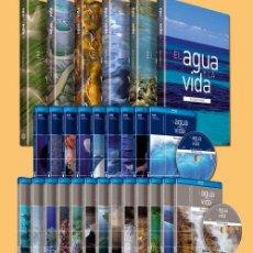 Enciclopedias: EL AGUA Y LA VIDA (6 TOMOS Y 22 DISCOS BLU RAY). Lote 114681439