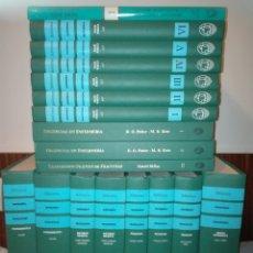 Enciclopedias: ENFERMERÍA PROFESIONAL+REGALO. BIBLIOTECA. MCGRAW-HILL. 17 TOMOS+REGALO 1 TOMO DICCIONARIO.. Lote 117427323