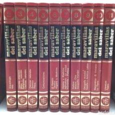 Enciclopedias: ENCICLOPEDIA MARAVILLAS DEL SABER 12 VOLUMENES. Lote 120702532