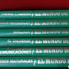 Enciclopedias: EL MUNDO DE HOY. 6 TOMOS. Lote 122535974
