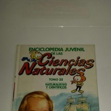 Enciclopedias: ENCICLOPEDIA JUVENIL DE LAS CIENCIAS NATURALES, LOS SNORKELS 1986, TOMO 25. Lote 123240607