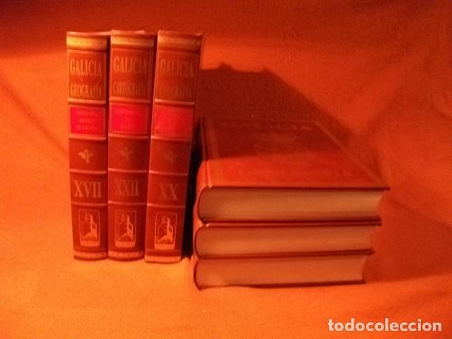 Enciclopedias: ENCICLOPÈDIA DE LUJO , GEOGRAFÌA DE GALICIA. AL 25% DE SU VALOR - Foto 3 - 125342523