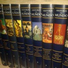 Enciclopedias: ENCICLOPEDIA HISTORIA DEL MUNDO (+DVDS). Lote 127904587